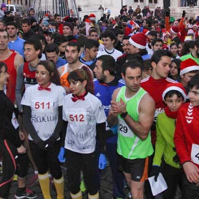 391 corredores desafiaron al frío en la San Silvestre cuellarana