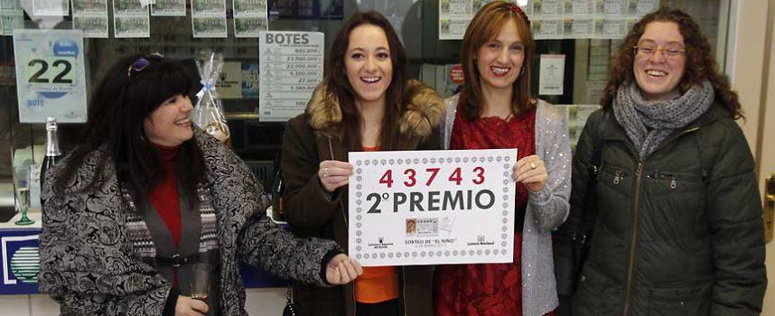 El segundo premio de la Lotería del Niño deja 750.000 euros en la comarca