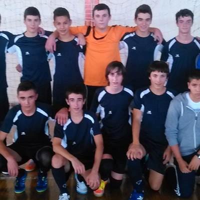 Los cadetes del FS Naturpellet celebrarán el título con su afición