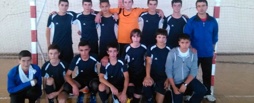 Los cadetes del FS Naturpellet se proclamaron campeones de liga