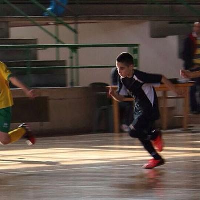 La cantera del FS Naturpellet disputó una jornada desigual