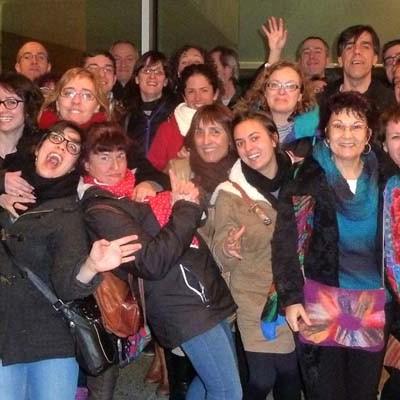 "Teatro Zereia viajó a Madrid a ver el espectáculo ""Ne m`oublie pas"" de Philippe Genty"