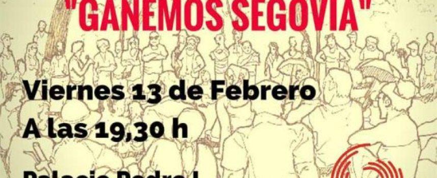 Presentación pública de Ganemos Segovia en Cuéllar