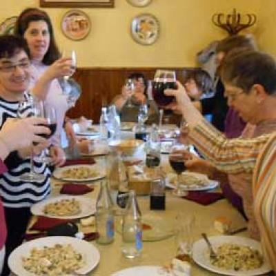 Las usuarias de Apadefim-Fundación Personas festejaron Santa Águeda