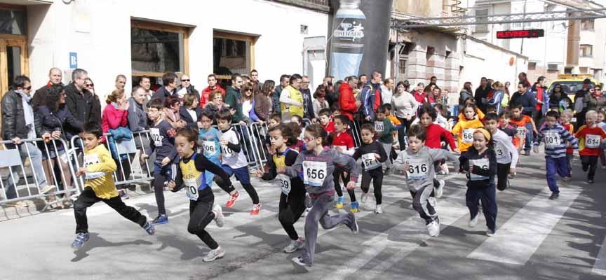 Salida de ls corredores alevines en una edición anterior de la prueba. |Fto: Gabriel Gómez|
