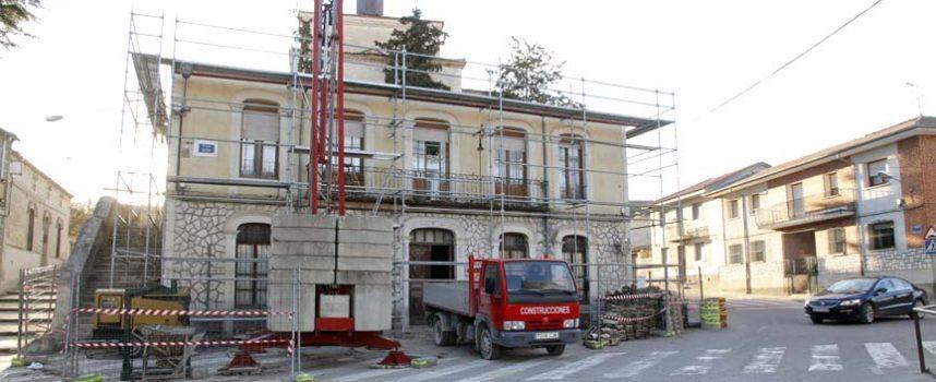 Comienza la restauración del Ayuntamiento de Olombrada