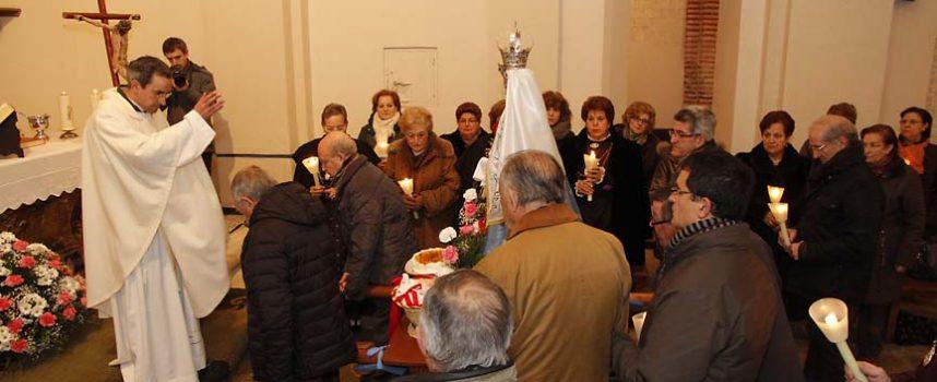 La iglesia de San Andrés acogió las celebraciones de Las Candelas