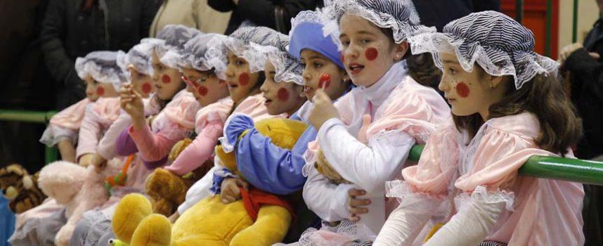 Los más pequeños, auténticos protagonistas del carnaval