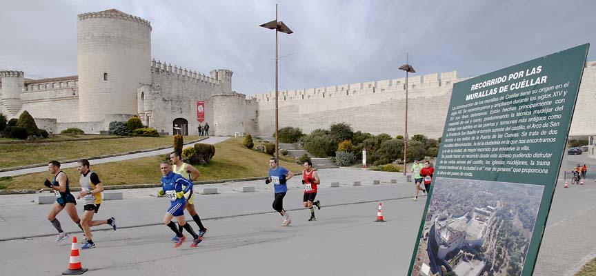 La Carrera de las Murallas discurre por el casco histórico de Cuéllar.