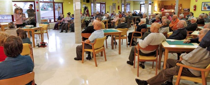 El Centro de Día de Personas Mayores celebra hoy el `Día de la colación´