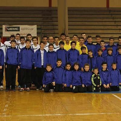 Dos victorias y tres derrotas para los equipos de la cantera del FS Naturpellet Cuéllar