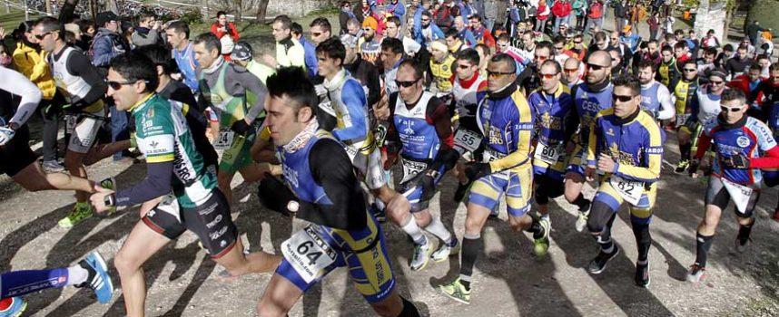 Los aficionados al Duatlón disfrutaron de una buena jornada deportiva en Cuéllar