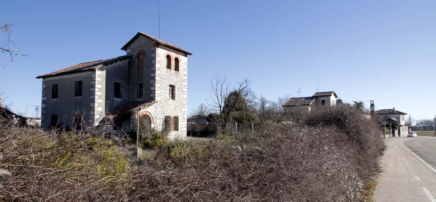 Finca de Filomena Sánchez Hinojal situada en El Henar.