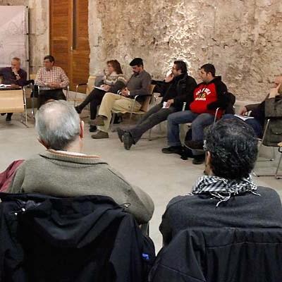 Ganemos Segovia presentó su proyecto en la villa