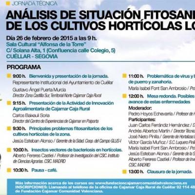 Jornada Técnica sobre virus y bacterias en puerro y zanahoria, el jueves en Cuéllar