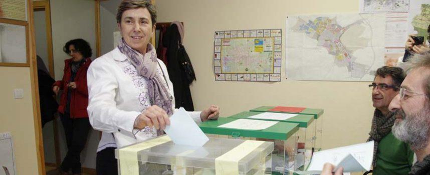 Montse Sanz, candidata de IU a la alcaldía de Cuéllar