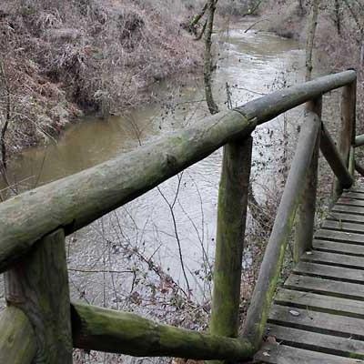 La Confederación Hidrográfica del Duero inicia la limpieza del cauce del río Cega junto a la Senda de los Pescadores