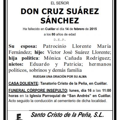 Cruz Suárez Sánchez