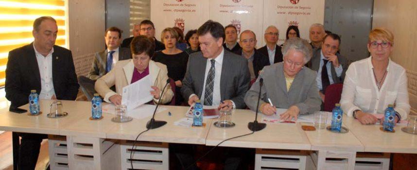 La Diputación destina 84.000 euros a convenios con asociaciones sociales de la provincia
