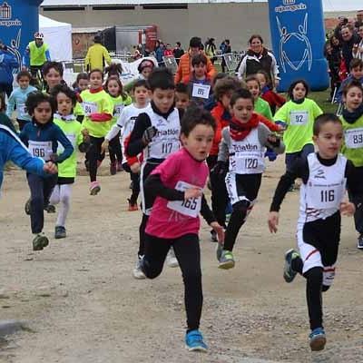 Buena clasificación para la cantera del Triatlón Cuéllar en el Duatlón Escolar de Diputación