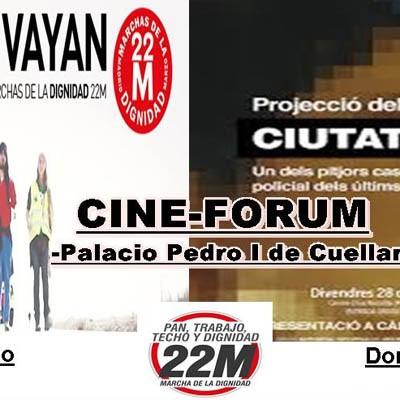"""La Red de Solidaridad Popular de Cuéllar  apoya las segundas """"Marchas de la Dignidad"""""""