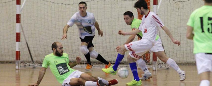 La falta de acierto llevó al FS Naturpellet a perder ante el Pizarras Los Tres Cuñados