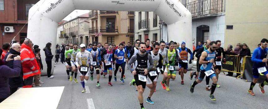 Atletismo y ciclismo en Fuenterrebollo para disputar el V Duatlón Cross `Pinares & Lagunas´