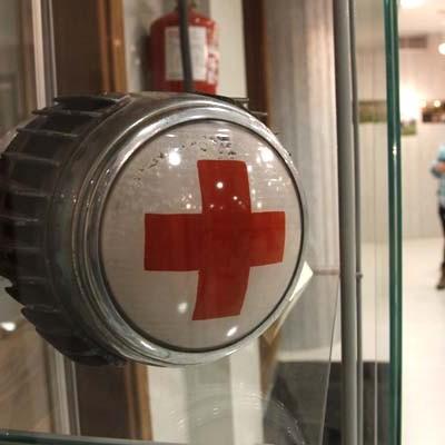 Una exposición repasa en Cuéllar los 150 años de historia de Cruz Roja