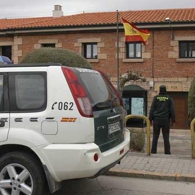 La Guardia Civil detiene en Cuéllar a una persona por quebrantamiento de la condena por homicidio doloso