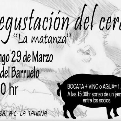 """La Asociación La Tahona de Vallelado celebra el domingo """"La Matanza"""""""