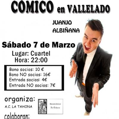 Vallelado iniciará el sábado un ciclo músico-cómico