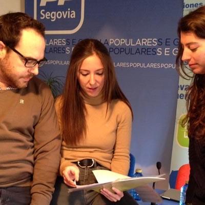 NNGG de Castilla y León celebra una Escuela de Formación en Cuéllar este fin de semana
