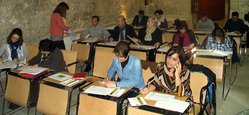 Panel de expertos desarrollado en el Palacio de Pedro I.
