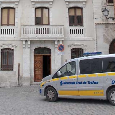 La Policía Local de Cuéllar realizará controles de velocidad en el casco urbano del 13 al 19 de abril