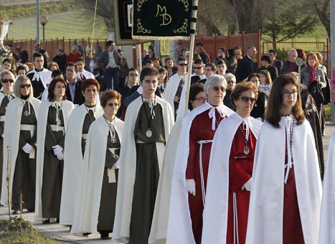 Los actos de Semana Santa se suceden en la comarca cuellarana