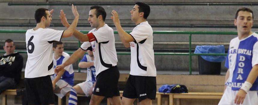 Zarzuela del Pinar y Racing Cuéllar ganaron a Chañe y Cantalejo en la provincial de fútbol sala