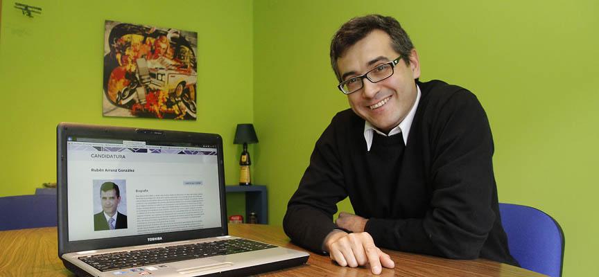 Rubén Arranz, integra una de las candidaturas a las primarias de Podemos Castilla Y León.