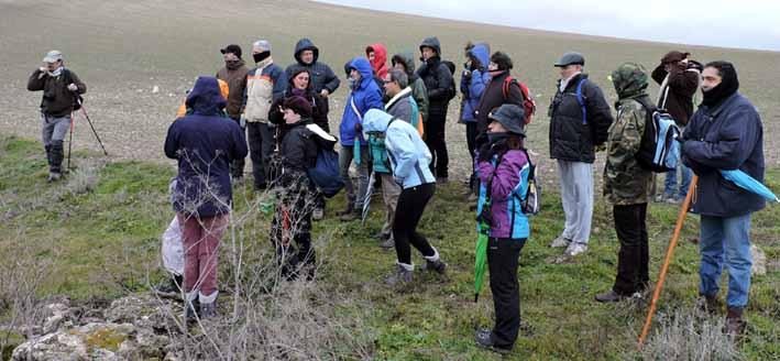 Participantes en una ruta anterior organizada por Honorse.