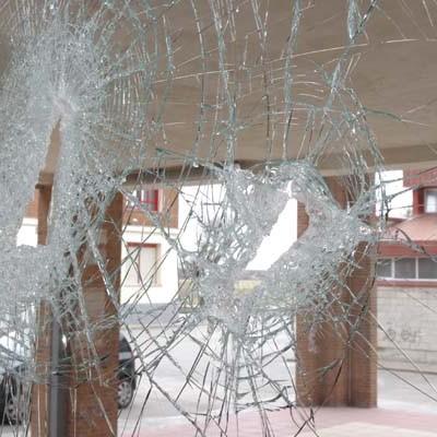 El IES Marqués de Lozoya sufre numerosos desperfectos por actos vandálicos durante la pasada madrugada