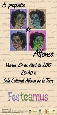 A proposito de Alfonsa