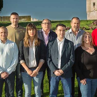 El PSOE presenta una lista renovada y joven para lograr la alcaldía de Cuéllar