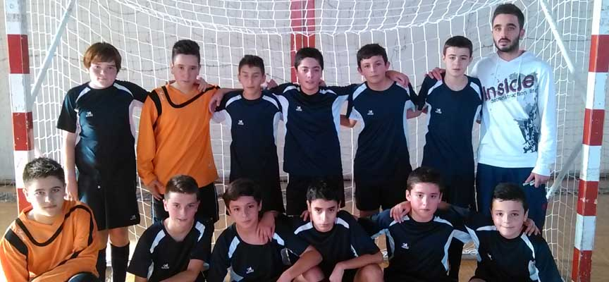 Equipo infantil temporada 2014-2015