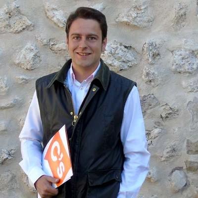 Luis Alberto Quevedo encabeza la lista de Ciudadanos en Cuéllar