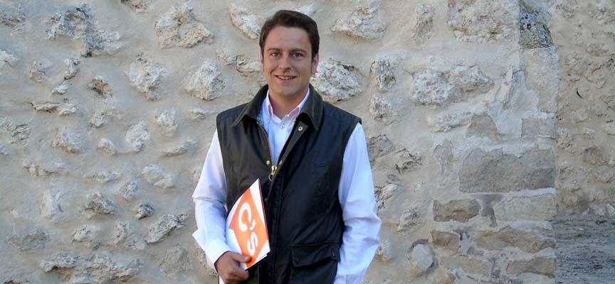 Luis Alberto Quevedo encabeza la lista de Ciudadanos en Cuéllar.