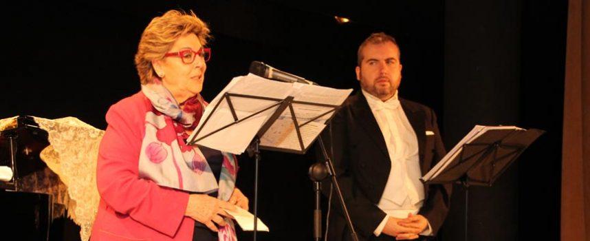 Paloma Gómez Borrero homenajeó a Santa Teresa acompañada por un varítono y un piano