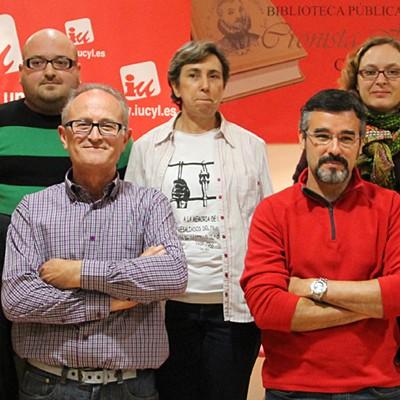 Nuria Aguado, Alma Casado, Jonathan Herguedas y Teresa Esteban se suman a la lista de IU a la alcaldía de Cuéllar