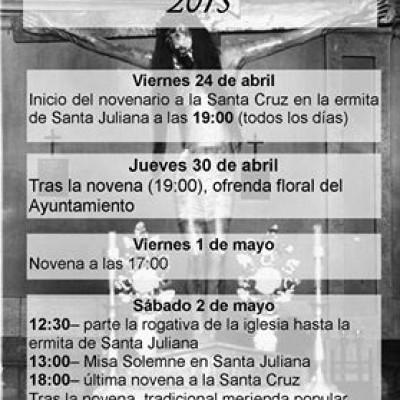 Fiestas de la Cruz de Mayo en Navalmanzano