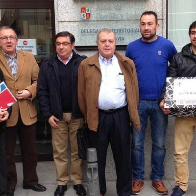 Más de 6.000 firmas apoyan que se concluya el pabellón de Nava de la Asunción