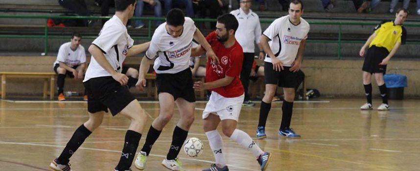 Racing Cuéllar gana el derbi ante el Zarzuela en la provincial de fútbol sala