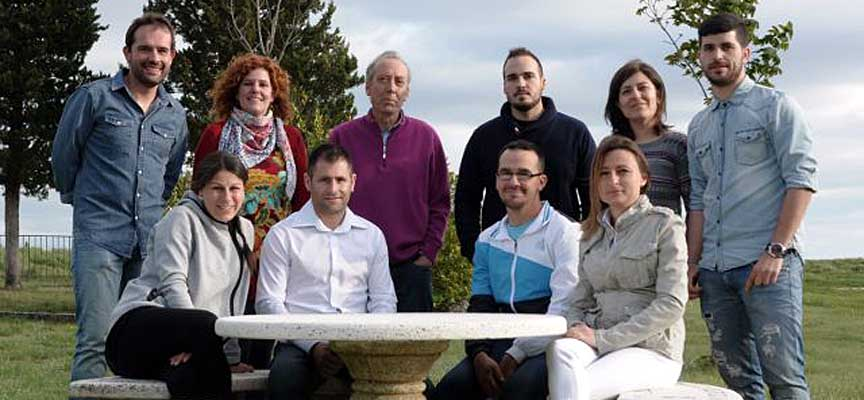 Integrantes de la candidatura de ALÍO.